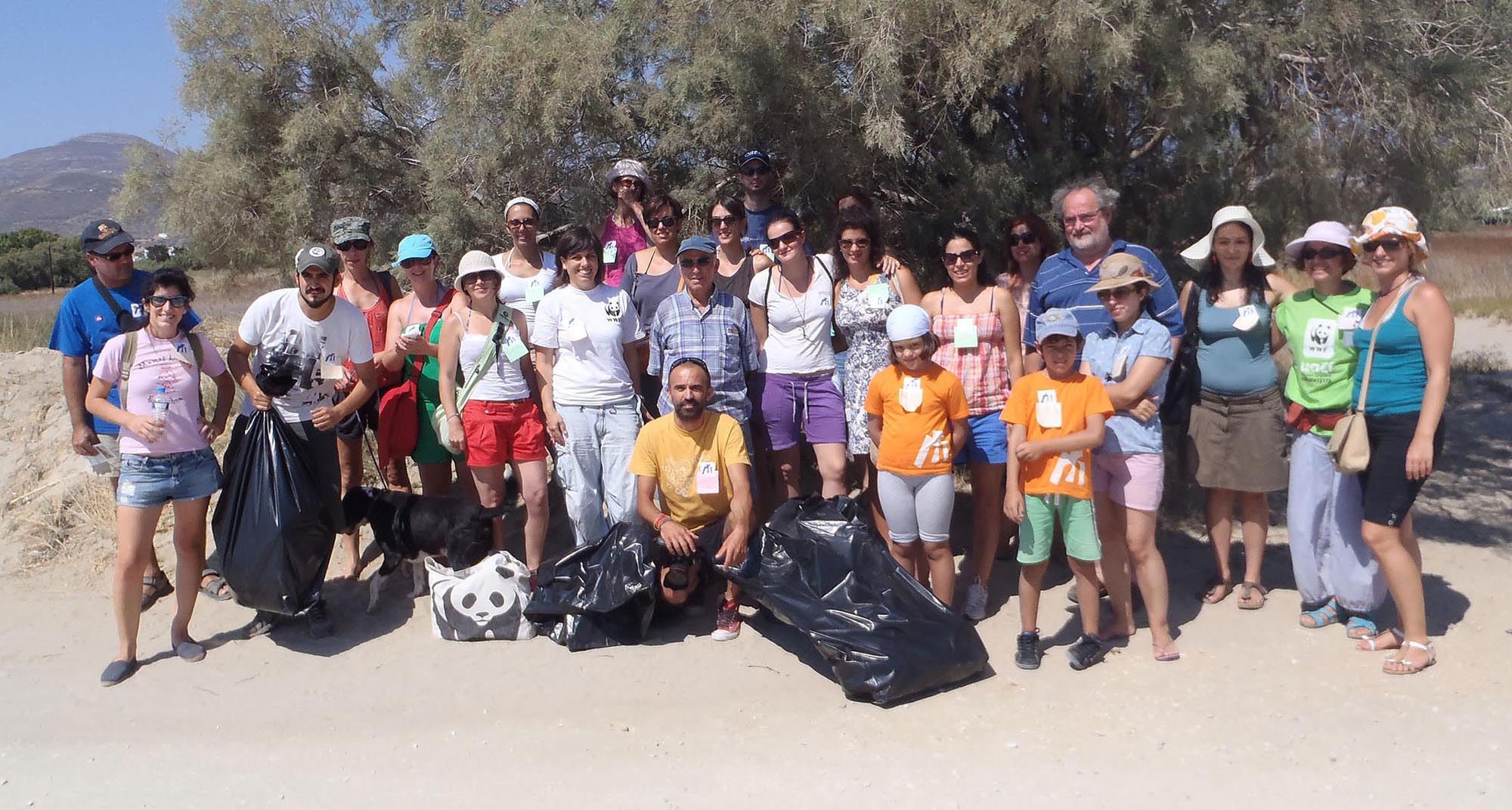 'A Morning in Molos's Wetland: Environmental act for children and adults under the voluntary program of WWF Hellas Network for Monitoring Paros Wetlands' with Maria Noidou, 2013